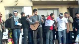 اغنية يا عكشة اهداء لتوفيق عكاشة من ميدان التحرير
