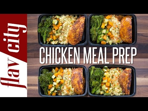 Chicken Meal Prep – How To Meal Prep Chicken ($5 per meal) – FlavCity with Bobby