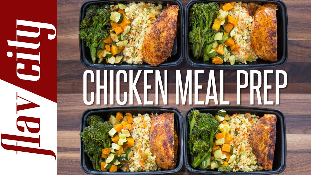 Chicken Meal Prep €� How To Meal Prep Chicken ($5 Per Meal) €� Flavcity With  Bobby