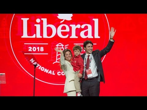 Trudeau holds news conference at Liberal Party convention in Halifax