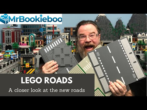 LEGO Roads - Uses For The New Road Plates In A LEGO City