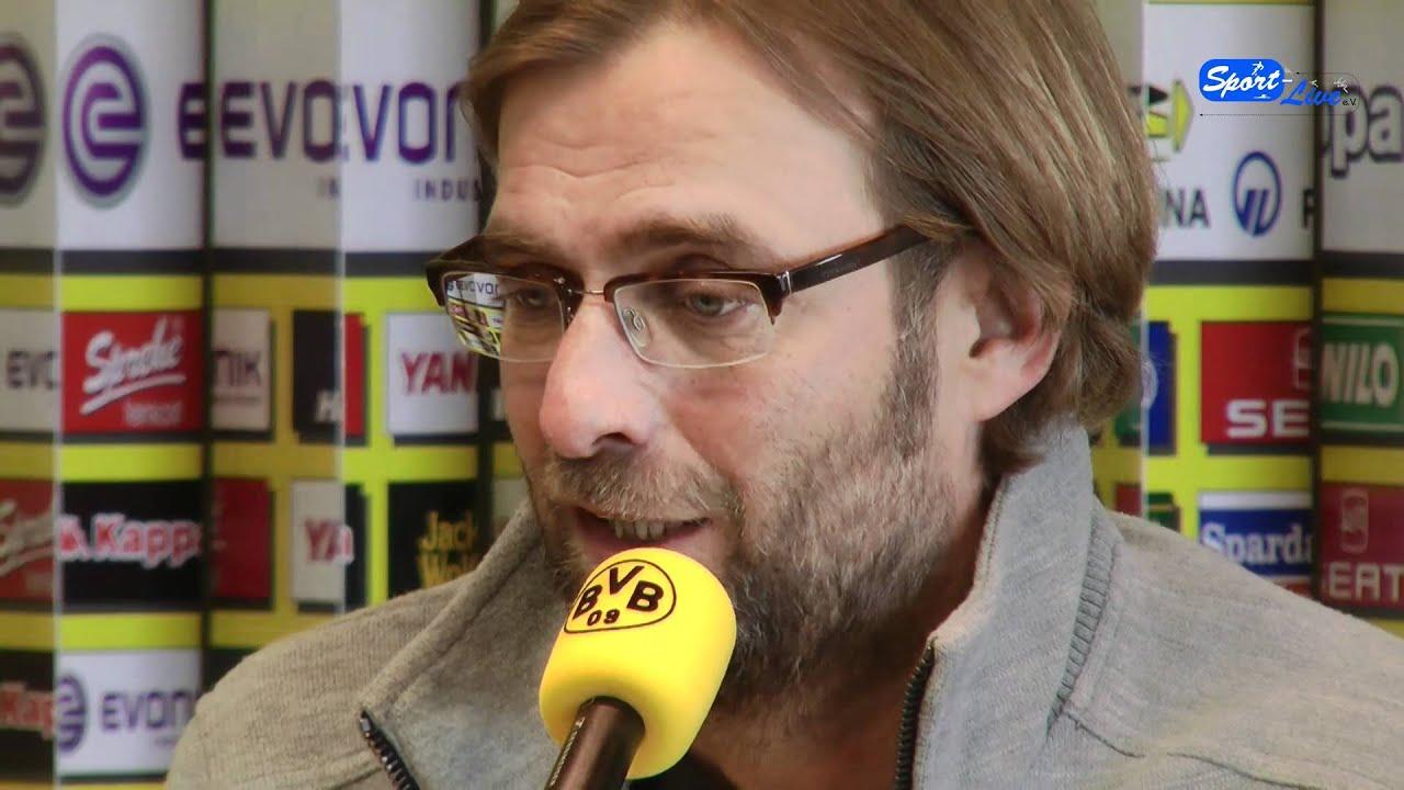 FC Schalke 04 - Borussia Dortmund: Die Pressekonferenz vor dem Spiel mit Jürgen Klopp Teil 2
