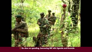 British army trains KWS & forest rangers on fighting poachers