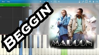 Madcon - Beggin [Piano Tutorial] Synthesia