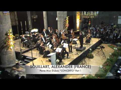 SOUILLART, ALEXANDER (FRANCE) Concerto De Dubois Part 1.m4v