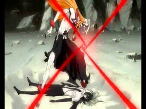 Bleach Ichigo Vasto Lorde vs Ulquiorra 2nd Form - YouTube