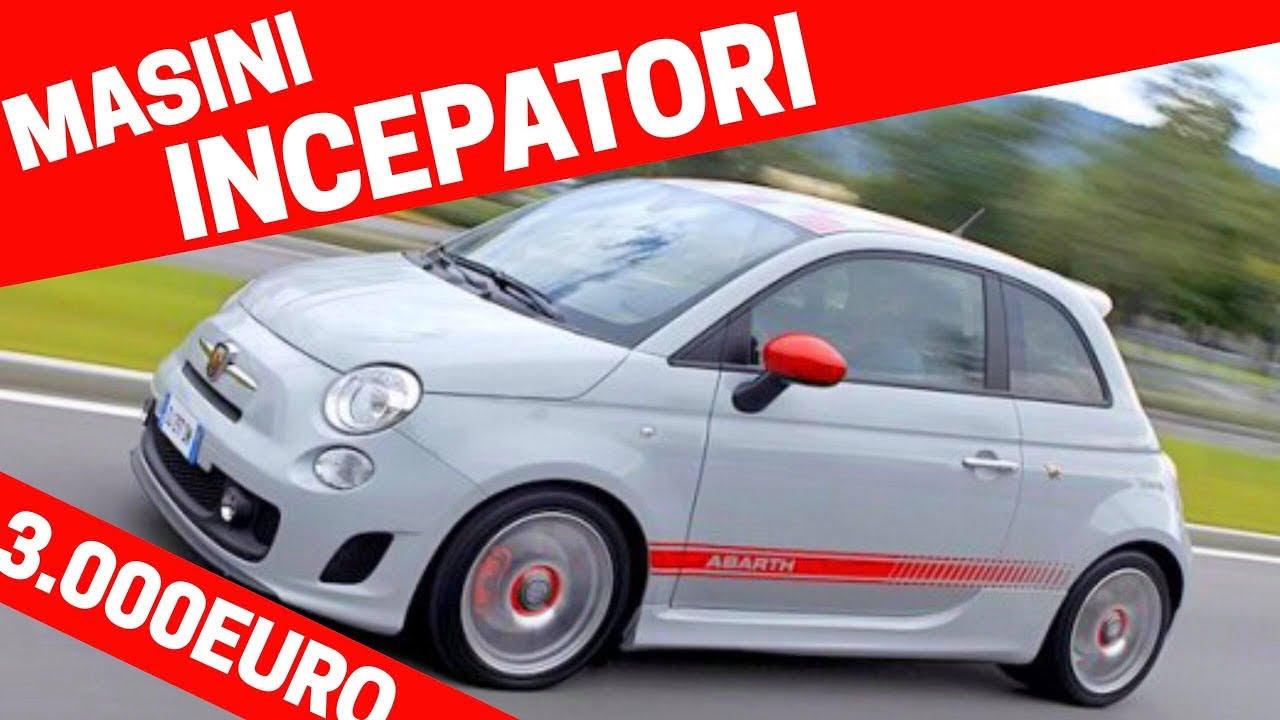 TOP 10 MASINI pentru INCEPATORI in limita de 3 000 EURO! VLOG S2E31