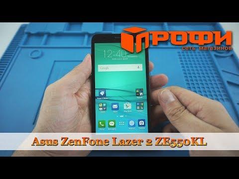 Asus ZenFone Lazer 2 ZE550KL разборка и замена дисплея/ Ремонт/Профи