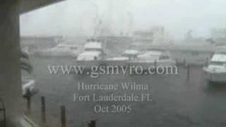 Yachts Crashing Hurricane Wilma Part 3 of 8