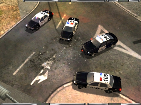 Emergency 4--Los Angeles Mod v2.0 4x4 W00ds Map v1-- EPIC LIGHTS AND SIRENS