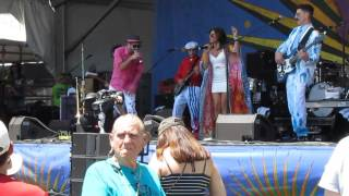 FlowTribe featuring Amanda Ducorbier at Jazz Fest 2016