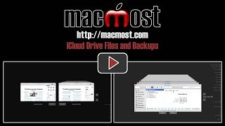 iCloud Drive Files and Backups (#1046)