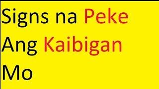 Paano Mo Malalaman Kung Peke Ang Kaibigan Mo | Marvin Sanico