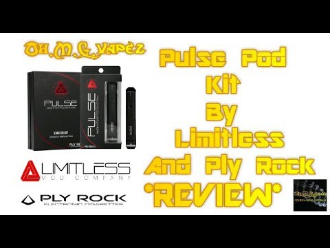 Pulse Pod Kit By Limitless & Ply Rock *REVIEW* More MTL vaping!