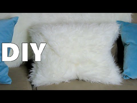 How To Make A Pillow DIY TUTORIAL No Sewing Machine Needed YouTube Extraordinary How To Make Pillows Without A Sewing Machine