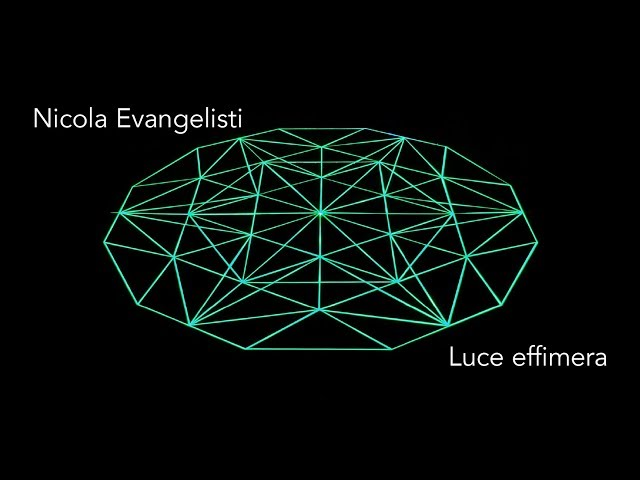 Luce e Colore tra Arte e Design | Nicola Evangelisti - Luce effimera