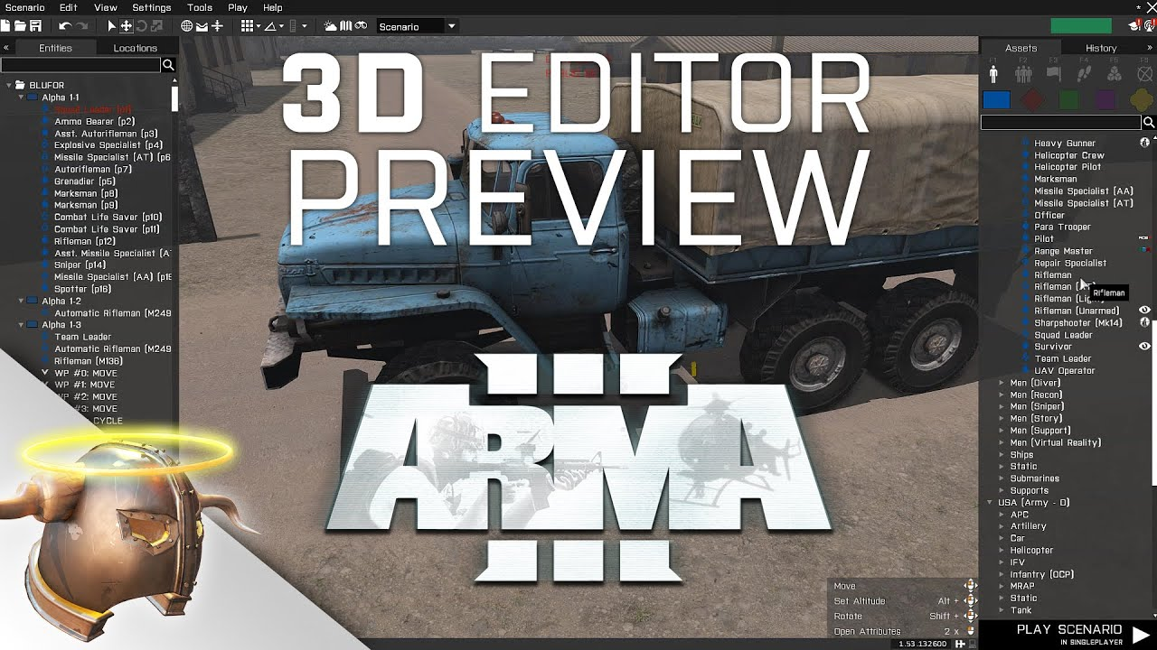 Arma 3 new 3d editor preview eden editor pre release for 3d editor online