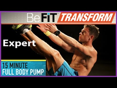 15 Min Full Body Pump Workout- Expert Level