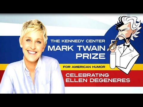 2012 10 30 Ellen DeGeneres The Kennedy Center Mark Twain Prize