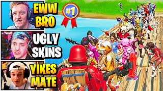 Streamers Host UGLY SKINS Fashion Show | Fortnite Daily Funny Moments Ep.526