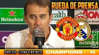 Rueda de prensa de Lopetegui post Manchester United 2-1 Real Madrid | ICC 2018