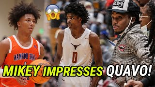 Mikey Williams Vs Scoot Henderson GOT WILD! Scoot Leads EPIC Comeback In Front Of Quavo & Sharife 😱