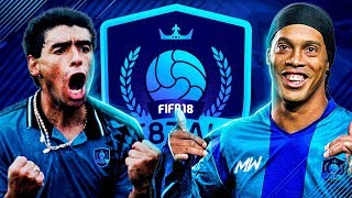 F8TAL PRIME RONALDINHO VS MARADONA | KNOCKOUT STAGES VS CACHOO!! - FIFA 18 ULTIMATE TEAM