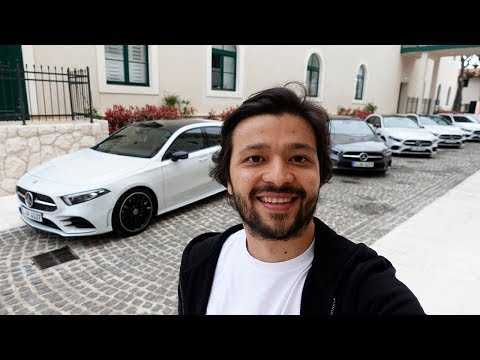 Yeni Mercedes A Serisi Için Hırvatistan'a Gittim! Vlog#43
