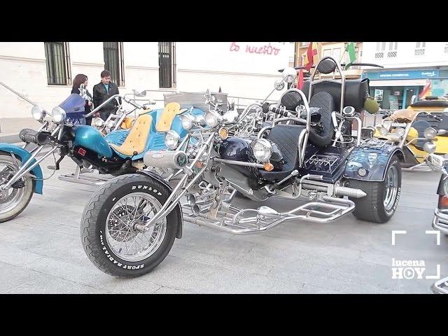 """VÍDEO: ¿Sabes qué es un """"trike""""?. Te invitamos a conocer estos espectaculares vehículos. Este fin de semana estuvieron en Lucena."""