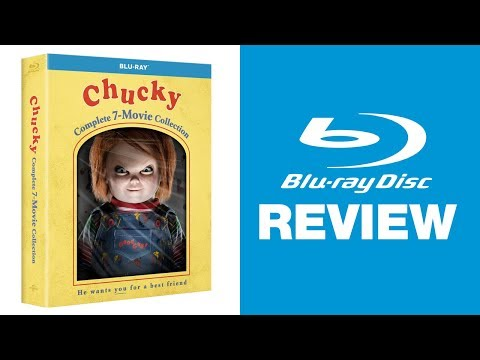 Chucky: Complete 7-Movie Collection Blu-ray Review | Universal streaming vf