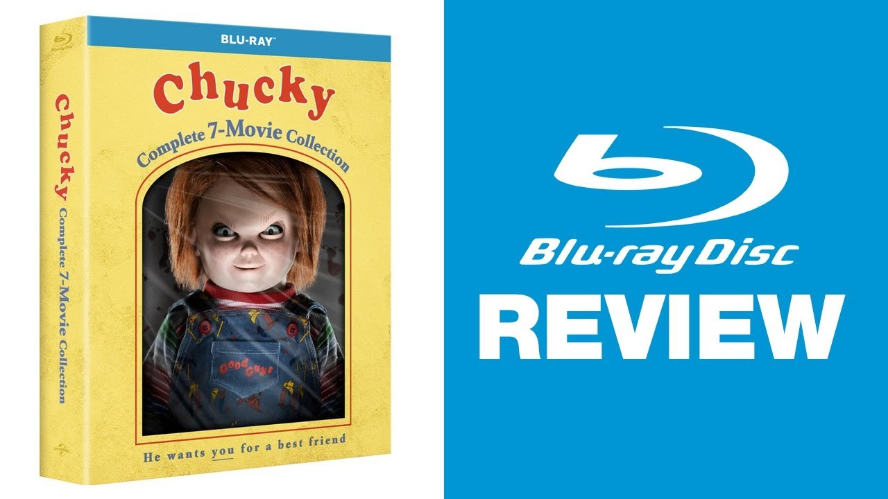 Download Chucky: Complete 7-Movie Collection Blu-ray Review | Universal