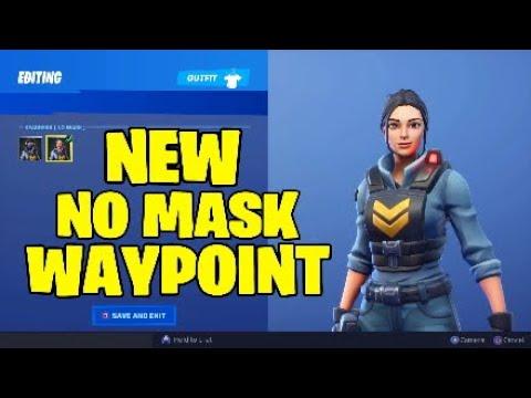 Fortnite Waypoint Skin New Style - No Mask