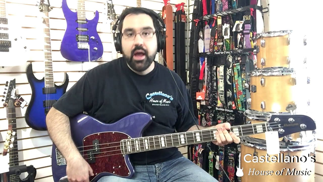 ibanez tmb 300 bass demo youtube