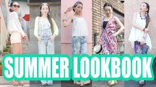 SUMMER LOOKBOOK 2014 ♡10 Ways to Wear a Bra Cami♡GUブラフィールファッション Thumbnail