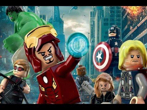 [1080p HD] LEGO MARVEL SUPER HEROES All Cutscenes Full Movie