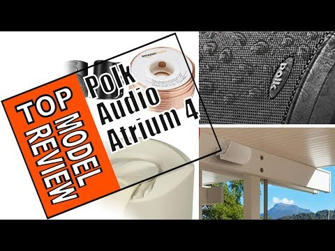 🌻 Polk Audio, Atrium 4 Outdoor Speakers with Powerful Bass Review
