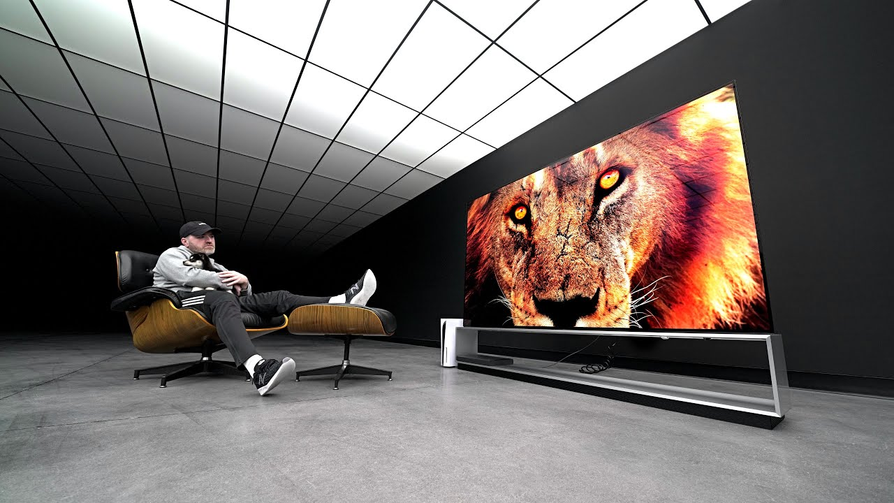 Unboxing LG's Mind Blowing 8K 88-inch OLED Beast