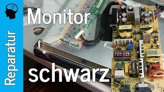 Reparatur Monitor HP LP2475w - schwarzer Bildschirm