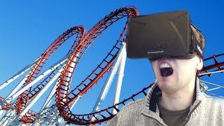 Oculus Rift ParrotCoaster | STANDING UP IS A BAD IDEA