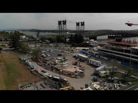 Waterfront Gateway Project Site & Surroundings Drone Video (April 2021)