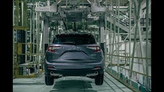 2019 Acura RDX Compact Crossover Production in Ohio