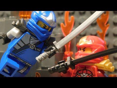 Lego Ninja Wars - Battle in the Volcano