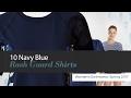 10 Navy Blue Rash Guard Shirts Women's Swimwear, Spring 2017