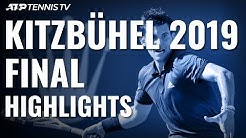 Dominic Thiem Wins 14th Career Title And First In Austria!   Kitzbühel 2019 Final Highlights
