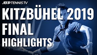 Dominic Thiem Wins 14th Career Title And First In Austria! | Kitzbühel 2019 Final Highlights