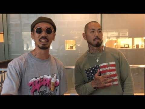 SHOがHIDADDY(韻踏合組合)と即興フリースタイルラップの巻 IN 渋谷。SHO FREESTYLE TV Part 581