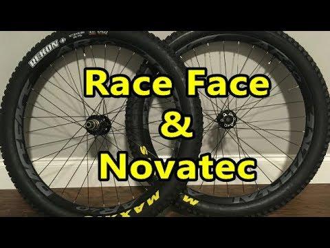 27.5+  Race Face AR40 Rims with Novatec D711 & D462 Hubs Weight Sound & Review