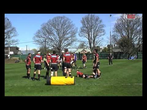 R80 Rugby Coaching: Ruck Defence Drill with Scott Robertson