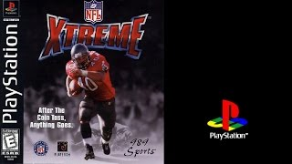 NFL Xtreme (Sony Playstation) Patriots vs Lions (Gameplay) The PS1 Files