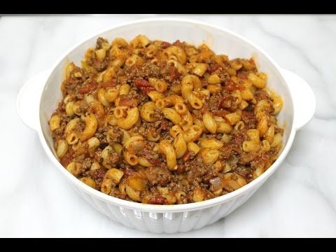 Goulash Recipe - Pasta with Ground Beef - In the Kitchen with Jonny Episode 132
